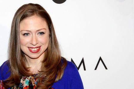 Chelsea Clinton arrives for Variety's Power of Women luncheon in New York