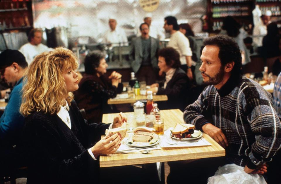 "<p>You can see the inspiration <strong>Crazy, Stupid, Love</strong> drew from <strong>When Harry Met Sally</strong> and other beloved rom-coms of that era. The classic story of two best friends who slowly fall in love is full of the same sharp dialogue and honest, awkward comedy, not to mention both movies have scenes that entered the pantheon of the most iconic rom-com moments ever.</p> <p><a href=""https://www.hbomax.com/feature/urn:hbo:feature:GXdu2Xgfa05uAuwEAADa2"" class=""link rapid-noclick-resp"" rel=""nofollow noopener"" target=""_blank"" data-ylk=""slk:Watch When Harry Met Sally on HBO Max"">Watch <strong>When Harry Met Sally</strong> on HBO Max</a>.</p>"
