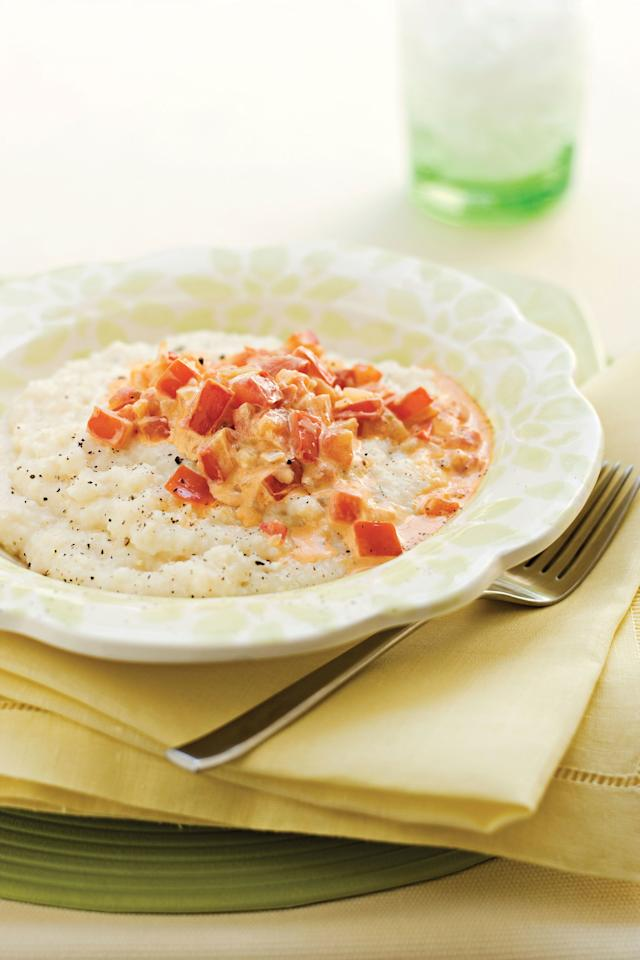 "<p><b>Recipe: <a href=""https://www.southernliving.com/recipes/slow-cooker-grits-recipe"">Slow-Cooker Grits</a></b></p> <p>Instead of sitting over the stovetop, let your slow cooker prep them for you. With a big batch of slow-cooker grits, you can have <a href=""https://www.southernliving.com/syndication/smoky-sausage-grits-casserole"">Smoky Sausage-and-Grits Casserole</a> for breakfast and <a href=""https://www.southernliving.com/syndication/wesleys-gulf-coast-shrimp-grits"">Gulf Coast Shrimp and Grits</a> for dinner.</p>"