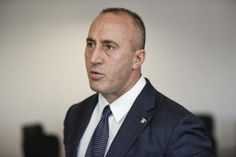 Ramush Haradinaj stepped down as Kosovo's prime minister after being summoned by a war crimes court (AFP Photo/Armend NIMANI)