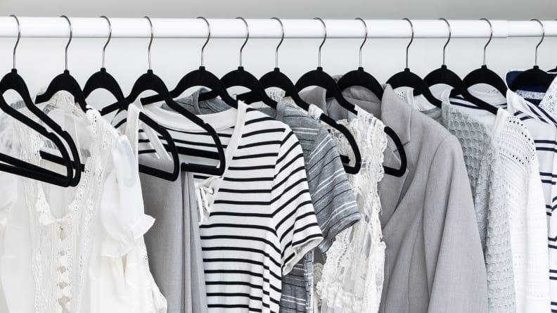 Keep your clothes from falling off your hangers once and for all.
