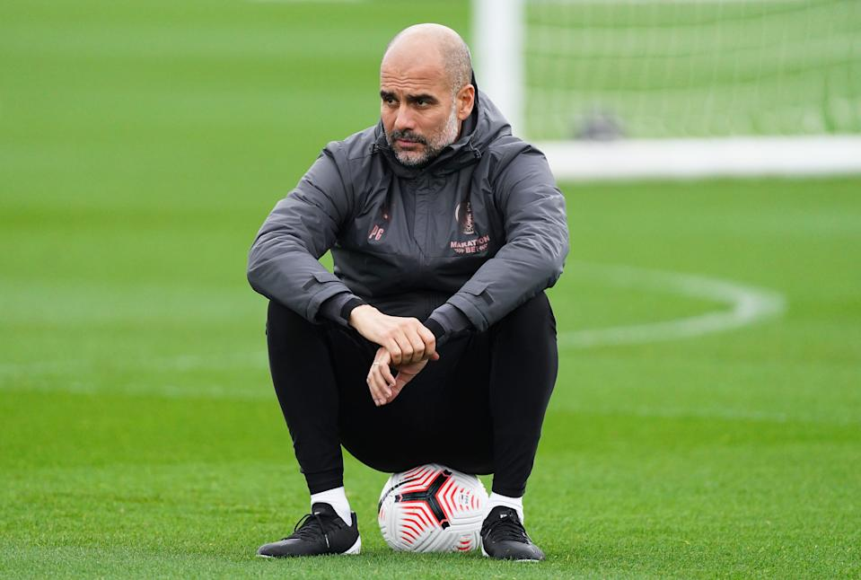 Pep Guardiola und Manchester City stecken in der Krise. (Bild: Getty Images)