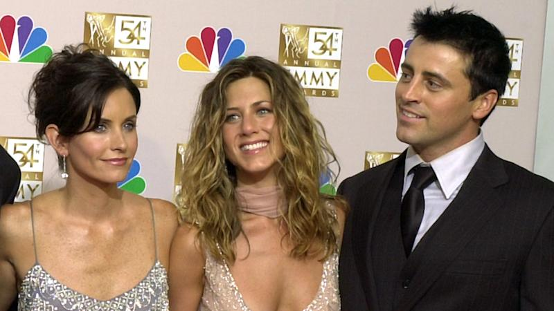 Courteney Cox posts 'rare' pic with 'Friends' co-stars, LeBlanc and Aniston!
