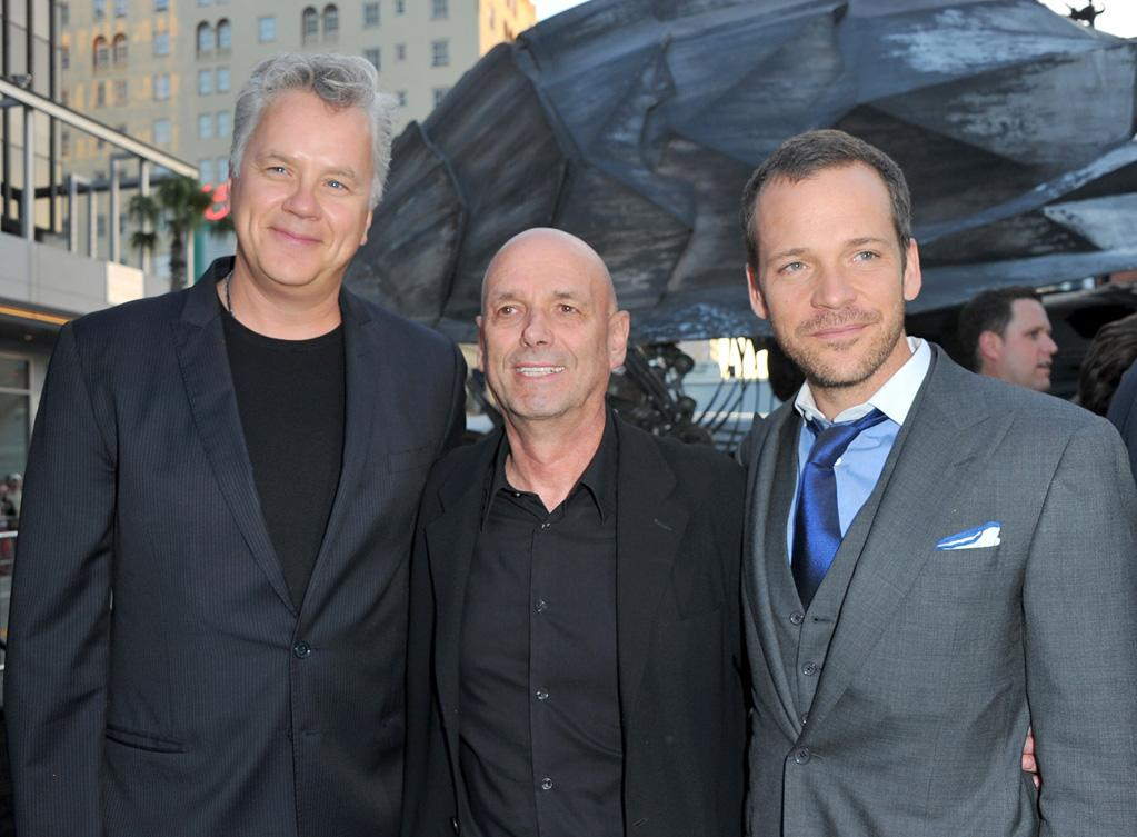 "<a href=""http://movies.yahoo.com/movie/contributor/1800018667"">Tim Robbins</a>, <a href=""http://movies.yahoo.com/movie/contributor/1809029543"">Martin Campbell</a> and <a href=""http://movies.yahoo.com/movie/contributor/1800020285"">Peter Sarsgaard</a> at the Los Angeles premiere of <a href=""http://movies.yahoo.com/movie/1810166777/info"">Green Lantern</a> on June 15, 2011."