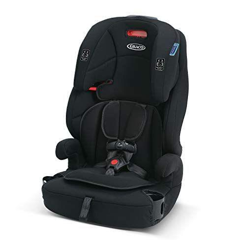 """<p><strong>Graco</strong></p><p>amazon.com</p><p><strong>$89.99</strong></p><p><a href=""""https://www.amazon.com/dp/B07C2RNRCJ?tag=syn-yahoo-20&ascsubtag=%5Bartid%7C10055.g.36283367%5Bsrc%7Cyahoo-us"""" rel=""""nofollow noopener"""" target=""""_blank"""" data-ylk=""""slk:Shop Now"""" class=""""link rapid-noclick-resp"""">Shop Now</a></p><p>Transforming from a forward-facing booster with a harness to a high back or backless booster, this option from Graco can truly <strong>grow with your child from the time they are a 22-pound toddler until they're ready to graduate from the booster seat completely</strong>. For the most comfortable fit, it has an 8-position adjustable headrest, as well as machine-washable seat pads and dual removable cup holders.<em><br></em></p>"""