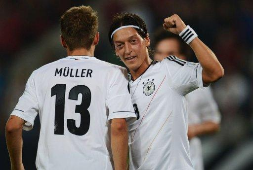 The Germans laboured to a 3-0 win over minnows Faroe Islands in Hanover