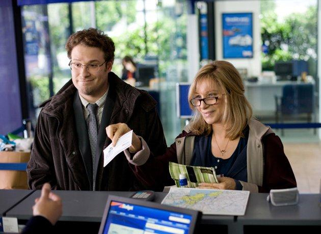 Seth Rogen and Barbra Streisand in 'The Guilt Trip'