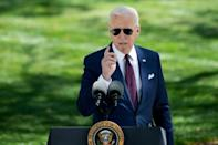 US President Joe Biden will give a sunny and ambitious message to the joint session of Congress