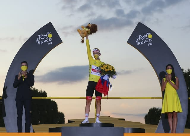 Slovenia's Tadej Pogacar was a surprise winner of the Tour de France