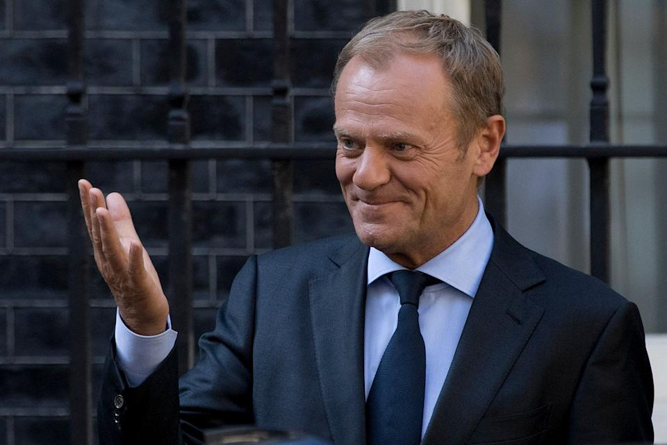 European Council president Donald Tusk hinted Brexit could still be cancelled (Picture: PA)
