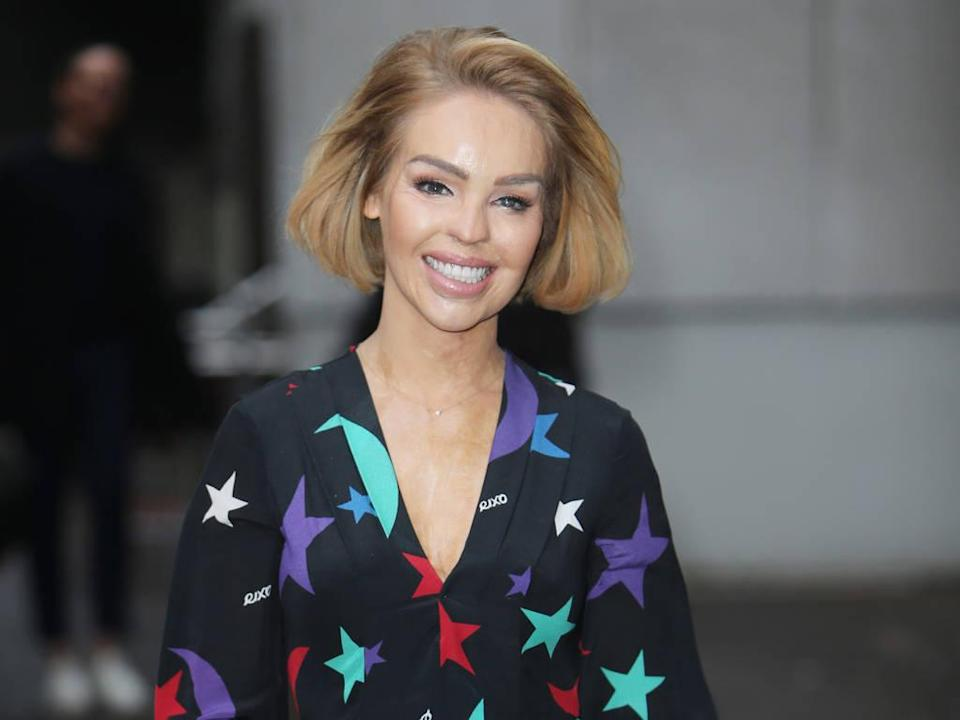 Katie Piper was attacked in 2008. Copyright: [Rex]
