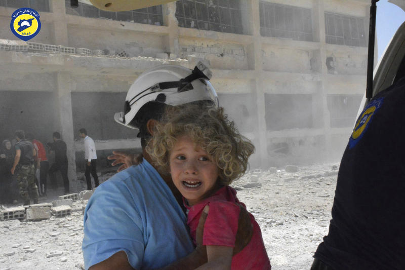 Israel evacuates 800 Syria White Helmets to Jordan: Army