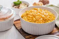 """<p><strong>CorningWare</strong></p><p>amazon.com</p><p><strong>$53.97</strong></p><p><a href=""""https://www.amazon.com/dp/B011NXFM2S?tag=syn-yahoo-20&ascsubtag=%5Bartid%7C1782.g.34415852%5Bsrc%7Cyahoo-us"""" rel=""""nofollow noopener"""" target=""""_blank"""" data-ylk=""""slk:BUY NOW"""" class=""""link rapid-noclick-resp"""">BUY NOW</a></p><p>Whether you're cooking for one or feeding a crowd, you can choose between a 2.5 quart dish, a 1.5 quart dish, a 16 ounce dish, and many more sizes to find the right dish for you.</p>"""