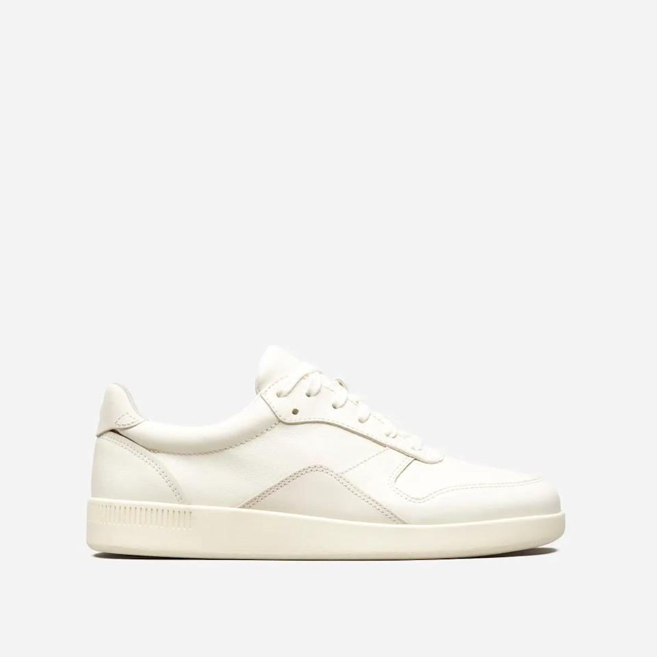<p>These <span>Everlane The Court Sneakers</span> ($98) will match everything.</p>