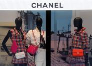 Chanel store in Paris