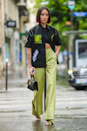 <p>Speaking of work trousers, add more interest to your ensemble by wearing your collared shirts as jackets and layering over a matching crop top. </p>