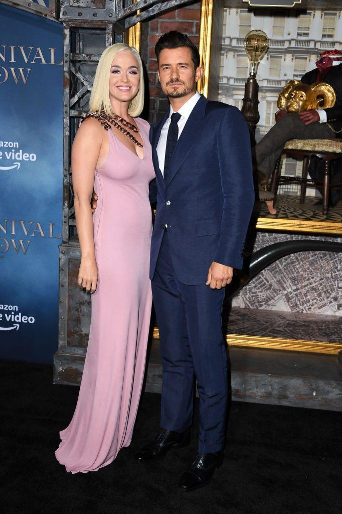 <p>Perry stepped in Tom Ford for the date night. </p>