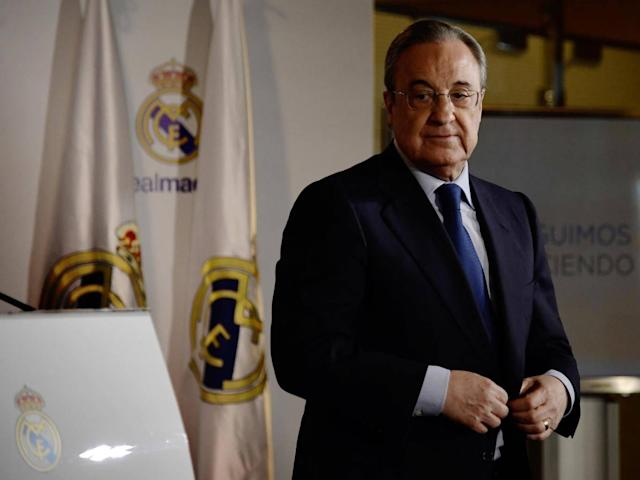 Florentino Perez was subtly warned by the PSG chief not to tap up his players (Getty)