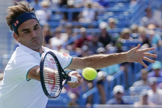 Roger Federer suffered a shock defeat to Andrey Rublev (John Michillo/AP)