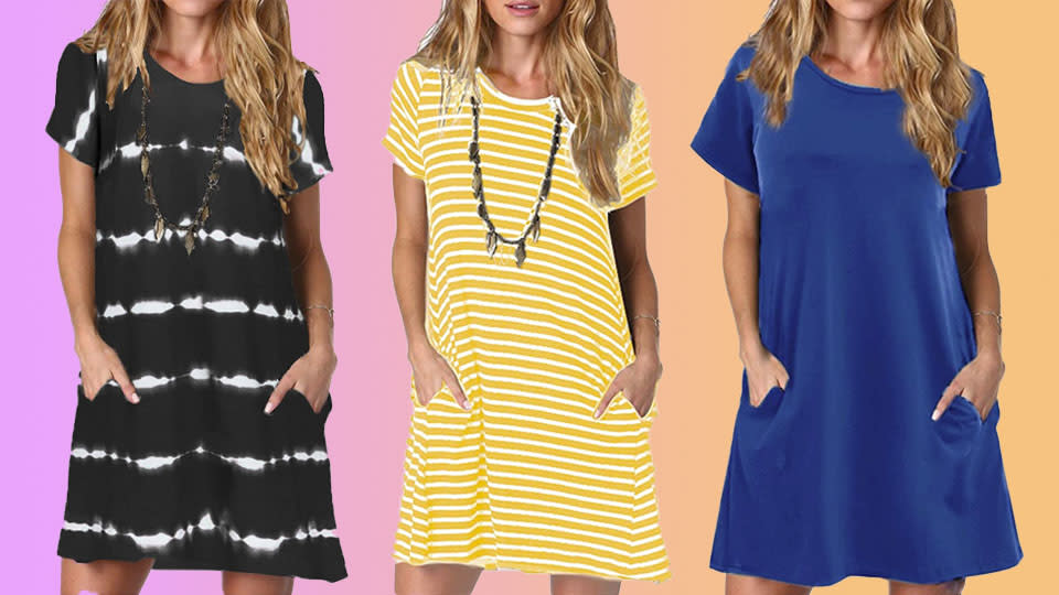 The perfect hot-weather dress has arrived, and it's only $25 on Amazon. (Photo: Amazon)