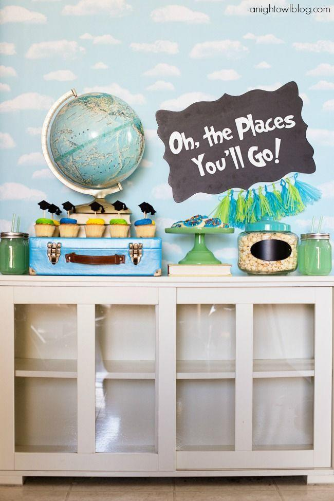 "<p>For your 2021 grad, a fun party idea that also serves as a subtle reminder that the world is their oyster. </p><p><a href=""https://www.anightowlblog.com/oh-the-places-youll-go-graduation-party/"" rel=""nofollow noopener"" target=""_blank"" data-ylk=""slk:Get the tutorial."" class=""link rapid-noclick-resp"">Get the tutorial.</a></p><p><a class=""link rapid-noclick-resp"" href=""https://www.amazon.com/Vintiquewise-Old-Fashioned-Suitcase-Decorative-Straps/dp/B00BBGU3XQ?tag=syn-yahoo-20&ascsubtag=%5Bartid%7C10063.g.36078412%5Bsrc%7Cyahoo-us"" rel=""nofollow noopener"" target=""_blank"" data-ylk=""slk:SHOP VINTAGE SUITCASE"">SHOP VINTAGE SUITCASE</a></p>"