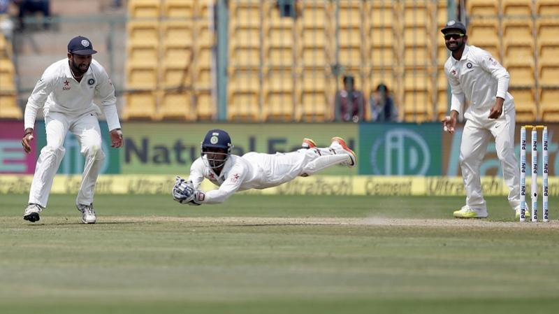 The catch I took in Pune was tougher than Bengaluru one, says Wriddhiman Saha