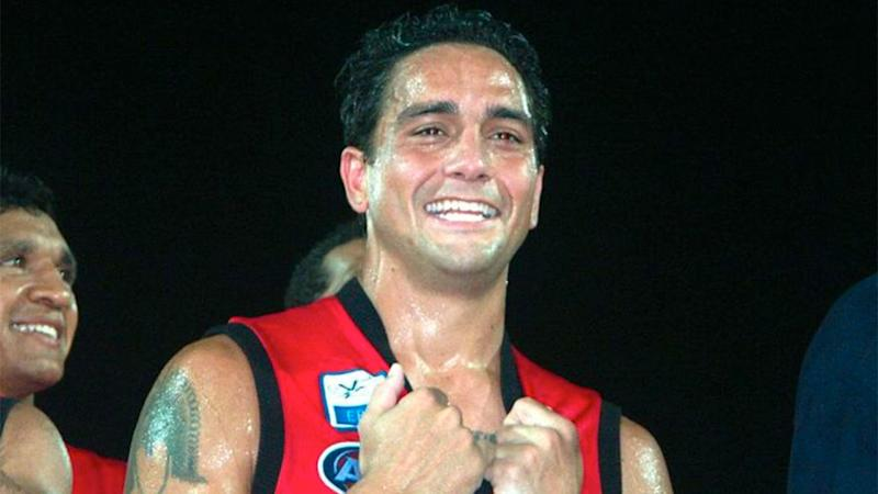 Pictured here, Adelaide Crows legend Andrew McLeod says he doesn't feel welcomed back at the club.