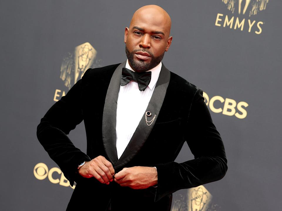 Karamo Brown attends the 73rd Primetime Emmy Awards (Rich Fury/Getty Images)