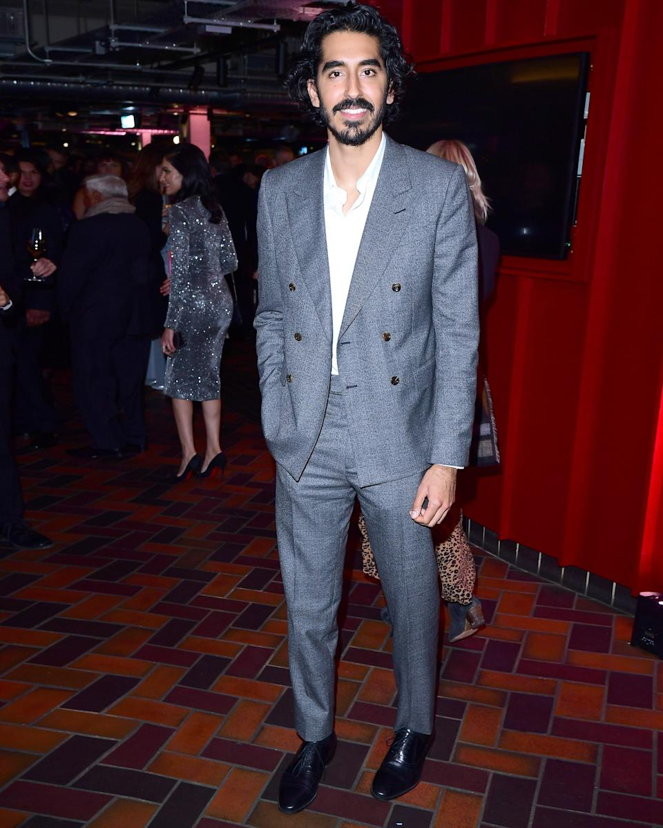 """<h1 class=""""title"""">October 3: Dev Patel</h1> <div class=""""caption""""> Just ask Dev Patel: The words """"double-breasted suit"""" and """"party"""" don't have to be enemies. </div> <cite class=""""credit"""">Getty Images</cite>"""