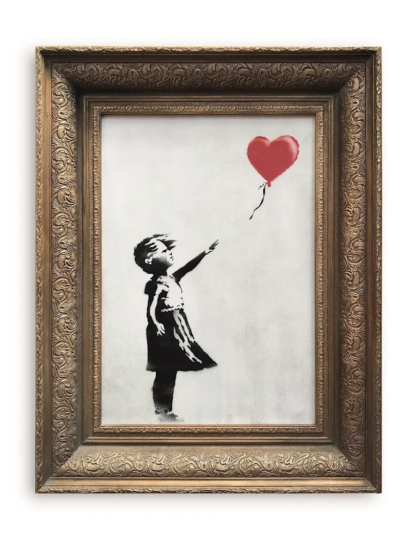 Banksy Claims No Collusion With Sotheby's—But What About With His Publicist?