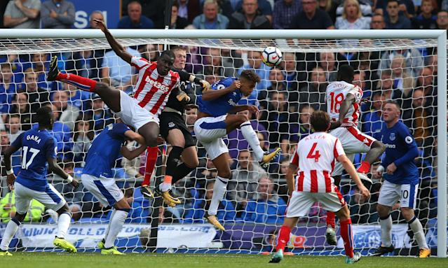 Everton have yet to concede in the opening four competitive matches of the season, including against Stoke City.