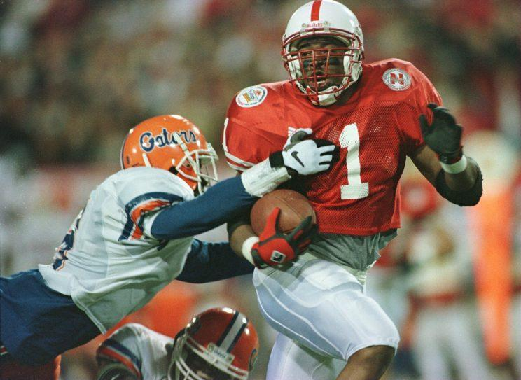 Former Nebraska running back Lawrence Phillips was atop of Art Modell's draft board. (Getty Images)