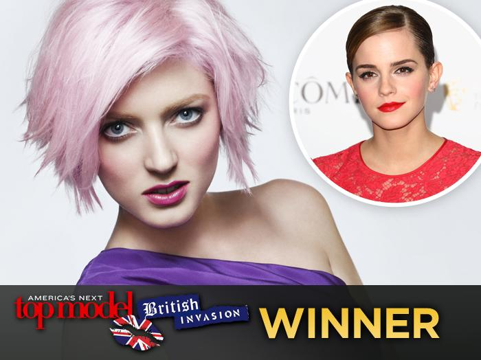 "On the ""America's Next Top Model"" Cycle 18 finale, British stunner Sophie Sumner was crowned champ. One celeb has been cheering her down the catwalk for quite some time: ""Harry Potter"" actress Emma Watson. The two have been pals for years. They were once roommates in England, and Sumner posed with Watson in an ad campaign for the actress's clothing line, People Tree, in 2010. They were spotted together at the Coachella Music Festival this past April. Click through this slideshow to see all of Sumner's photos from this season."