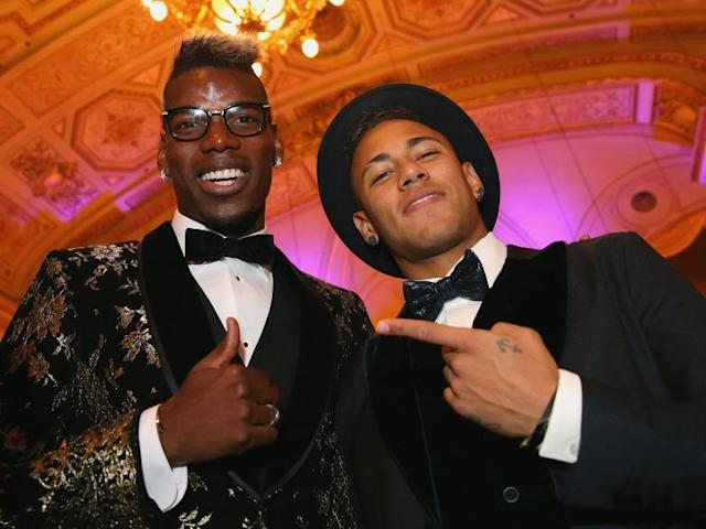 Manchester United's Paul Pogba: It'd be a 'pleasure' to play alongside Neymar