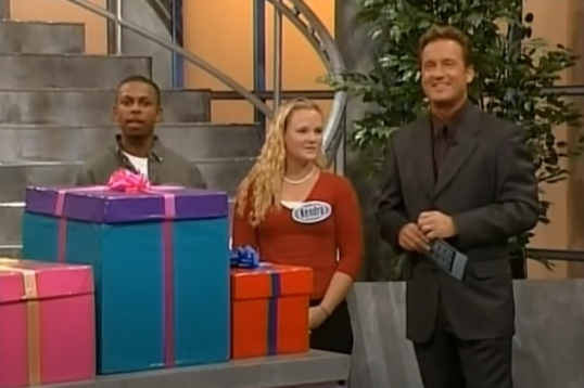<p>This '90s classic originally aired on Lifetime and eventually moved to PAX, where it was paired up with the incredibly popular <em>Supermarket Sweep. </em>The set was built to look like a shopping mall and had teams of two competing for prizes. The final round was a shopping spree where contestants ran throughout the mall and picked out prizes.</p>