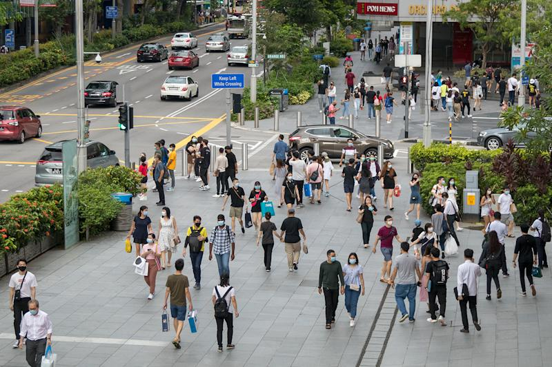 Orchard Road in June 2020. (PHOTO: Dhany Osman / Yahoo News Singapore)