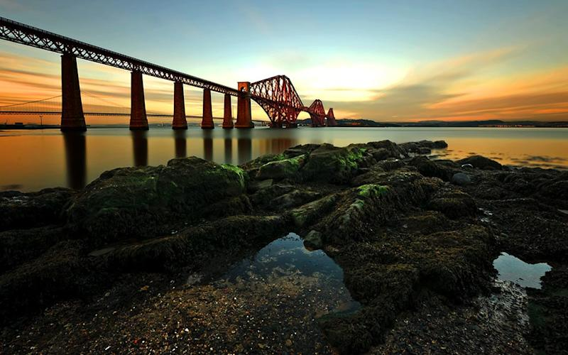 A cycling tour is a time-effective way to cover the top sights – including Forth Bridge (pictured) - ©PeteRowbottom2012