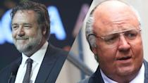 <p>Crowe looks unrecognisable as former Chairman and CEO of Fox News Roger Ailes. </p>