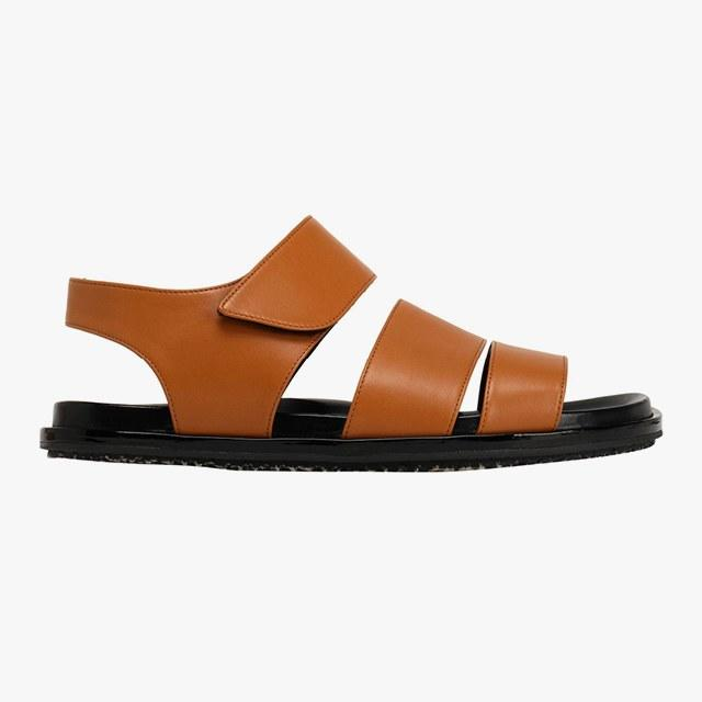 Marni leather sandals, was $365, now $183, theoutnet.com 75% off