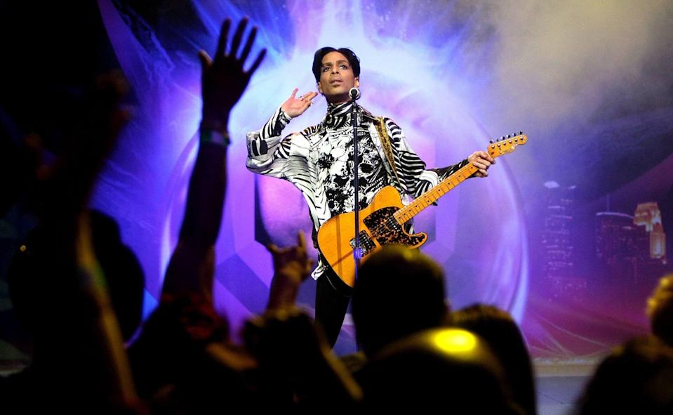 Prince's estate has signed a deal allowing Peloton to use the late singer's music - Kristian Dowling/Getty