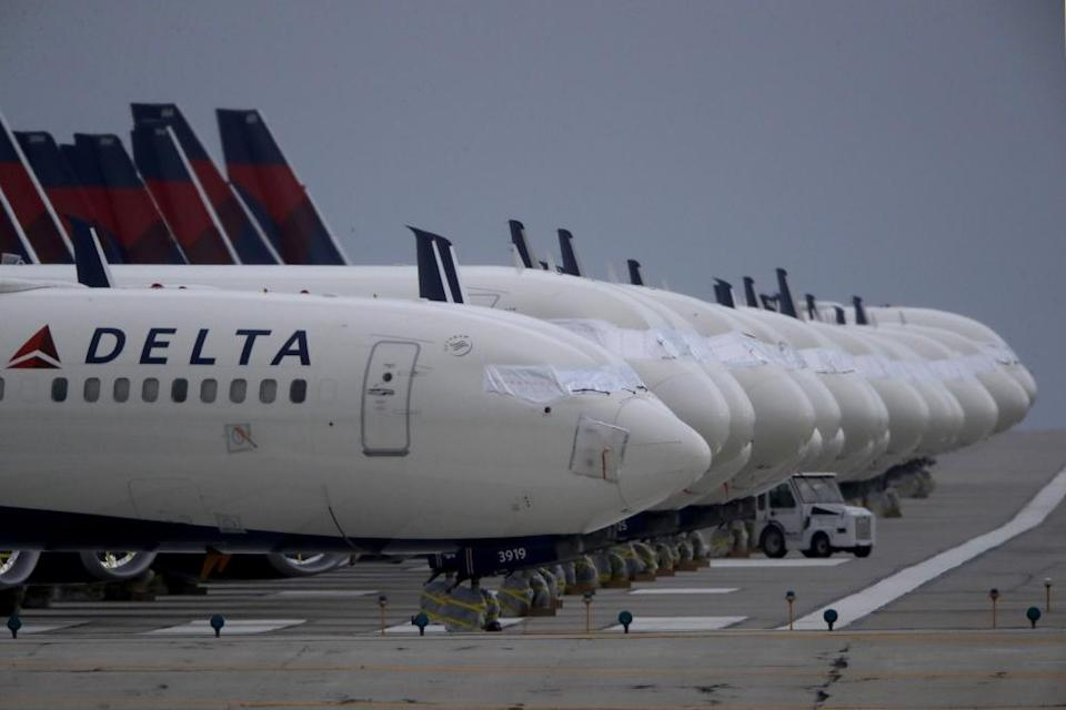 Delta has warned that it may furlough more than 1,900 pilots.