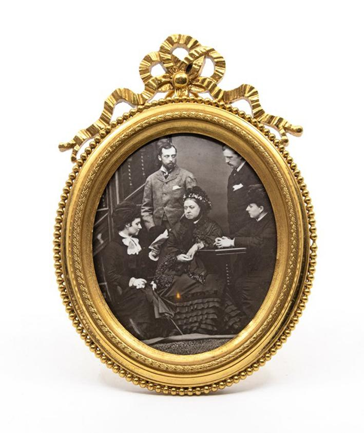 One of the miniature portraits