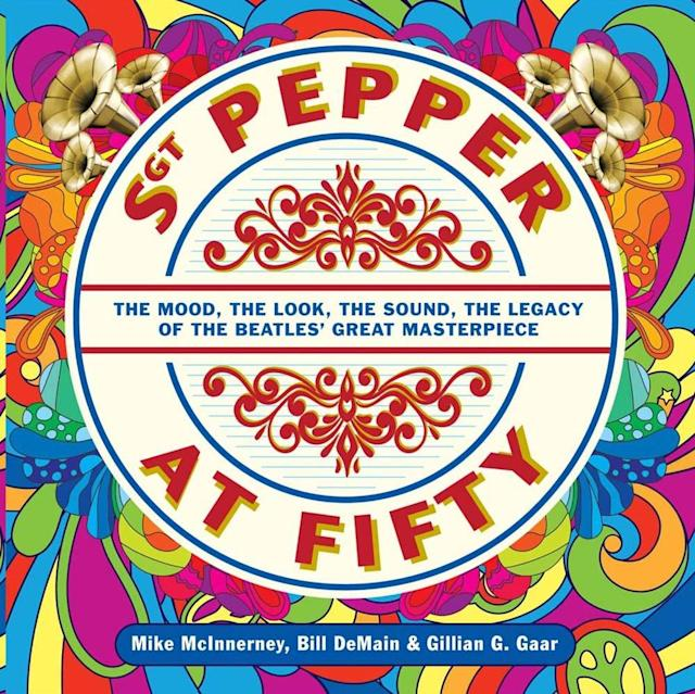 "<p>By Mike McInnerney, Bill DeMain, and Gillian G. Gaar<br>At least three books are arriving this year that deal solely with <em>Sgt. Pepper</em>. Foremost among these is <em>Sgt. Pepper at Fifty</em>, a coffee table book encompassing enough to merit its unwieldy subtitle. (Was there ever a masterpiece that wasn't great?) Alongside the larger historical essays on the recording process, album cover art, and overall '60s context, you get entertaining sidebars on everything from the history of the concept album to the Paul-Is-Dead clues supposedly embedded in ""Pepper,"" not to mention the Beatles' sudden facial hair (""Pepper Sprouts: How the Beatles' Mustaches Set Them Free in the Summer of Love""). A chapter on ""The Eternal Debate: Mono vs. Stereo"" serves as a nice, detail-filled primer on the differences between the two 1967 mixes, for anyone who's about to dive into the 2017 remix that combines different elements of the two. Also fun: some retrospective critical quotes, like the New York Times on the disastrous, Bee Gees-led <em>Sgt. Pepper</em> film (""This isn't a movie, it's a business deal set to music"") or some elder rock critics knocking the Beatles' album itself — Greil Marcus called it ""a Day-Glo tombstone for its time,"" and Lester Bangs compared their magnum opus unfavorably to ""Louie Louie.""<br>(Photo: Sterling Press) </p>"