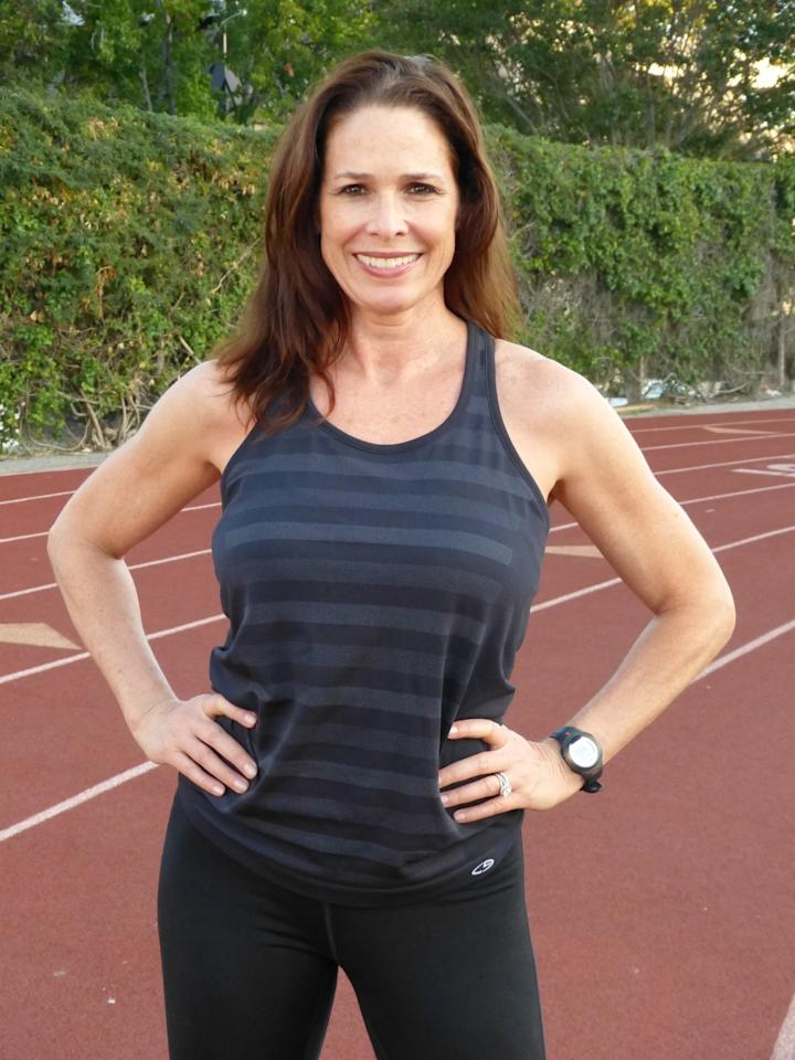 """<p>I run marathons because they prepare you for life. I'm never more disciplined, tough, focused, and ambitious than I am when I'm training for a marathon.</p><p><i>—Treva Brandon Scharf, 52, Beverly Hills, California. Five-time marathon finisher, certified personal trainer, <a href=""""https://www.laprogressive.com/author/treva-brandon/"""">fitness blogger</a>.</i></p>"""