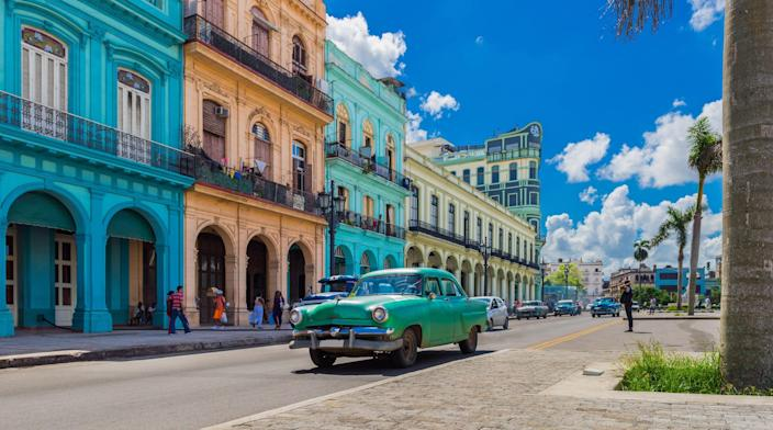 The Trump administration is going to bar Americans from staying at 433 hotels in Havana that it believes are government-controlled. Here's a city scene in Havana