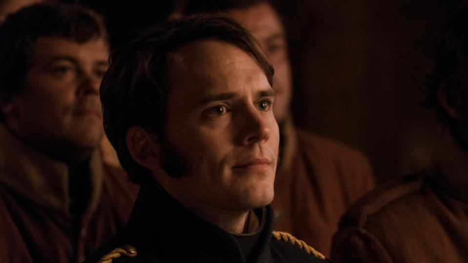 Sam Claflin in 'The Nightingale'. (Credit: Vertigo Releasing)