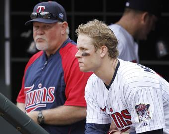 Twins manager Ron Gardenhire (left) suffered a concussion as a minor leaguer in 1983. He was one of the lucky ones