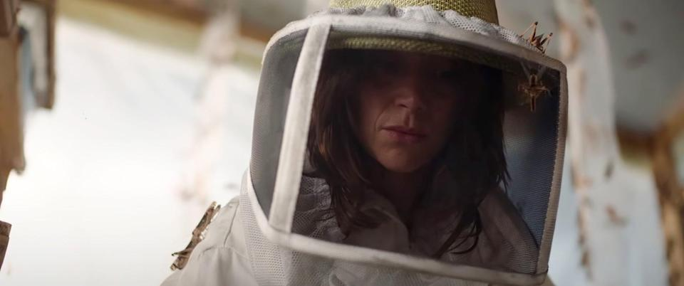 """<p>The 2021 French film <strong>The Swarm</strong> will definitely give you goosebumps. The film follows a single mother who breeds locusts for the purpose of eating them as a high-protein food. But here's the twist: they discover that these insects have a taste for blood.</p> <p>Watch <a href=""""https://www.netflix.com/title/81222576"""" class=""""link rapid-noclick-resp"""" rel=""""nofollow noopener"""" target=""""_blank"""" data-ylk=""""slk:The Swarm""""><strong>The Swarm</strong></a> on Netflix now.</p>"""