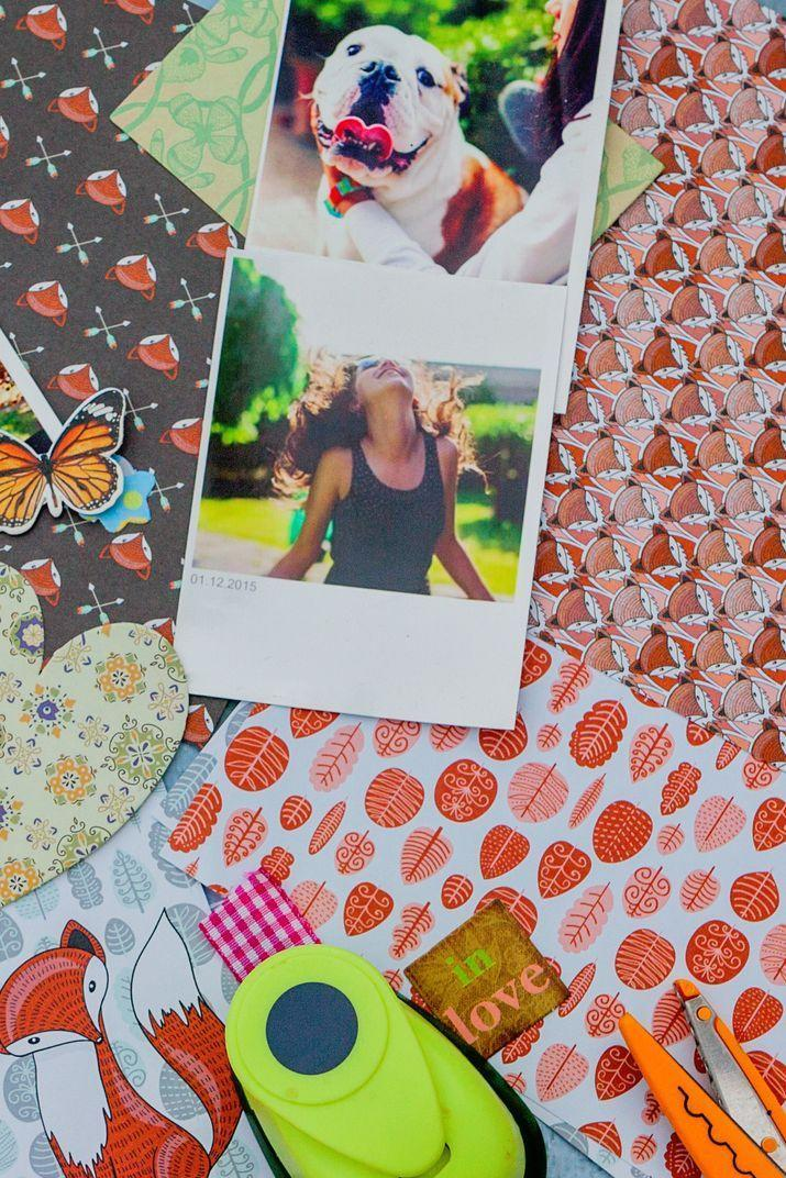 <p>Scrapbooking is a fun, creative project you can work on with kids year-round. For mother's day, make a book together featuring photos of the whole family during some of your favorite times — holidays, vacations, dress-up time! </p>