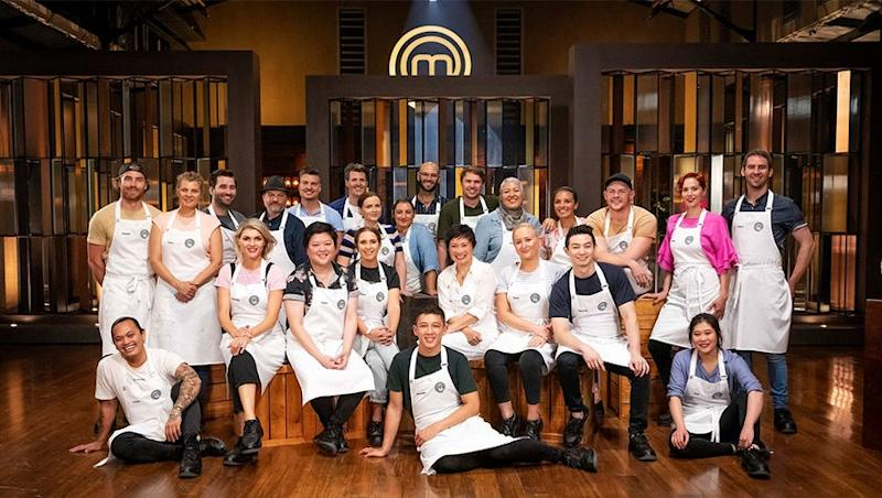 The contestants of MasterChef: Back to Win.